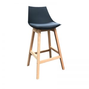 Fox Barstool 300x300 - Fox Bar Stool - Black