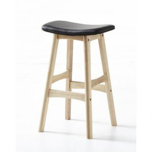 Gangman Black Stool Contour21203 LR 300x300 - Gangnam Bar Stool