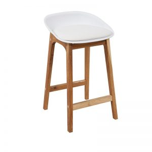 loire2 1 300x300 - Loire Bar Stool - White