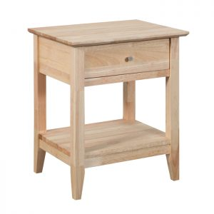 Quadrat Bedside Table 300x300 - Quadrat 1 Drawer Bedside