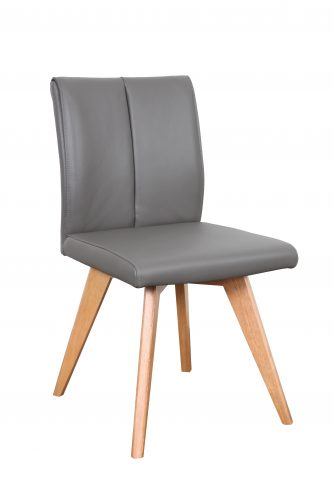 A1.12 Hendriks Chair Charcoal Natural e1536028318161 - Hendriks Dining Chair Natural - Charcoal Leather