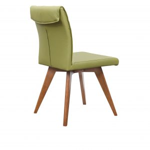 A1.13 Hendriks Chair green Teak 300x300 - Hendriks Dining Chair Teak - Green Leather