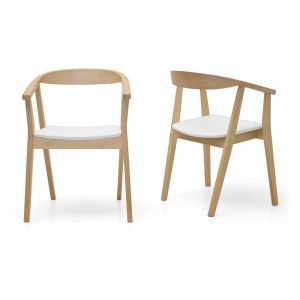 Albert 300x300 - Albert Dining Chair - White