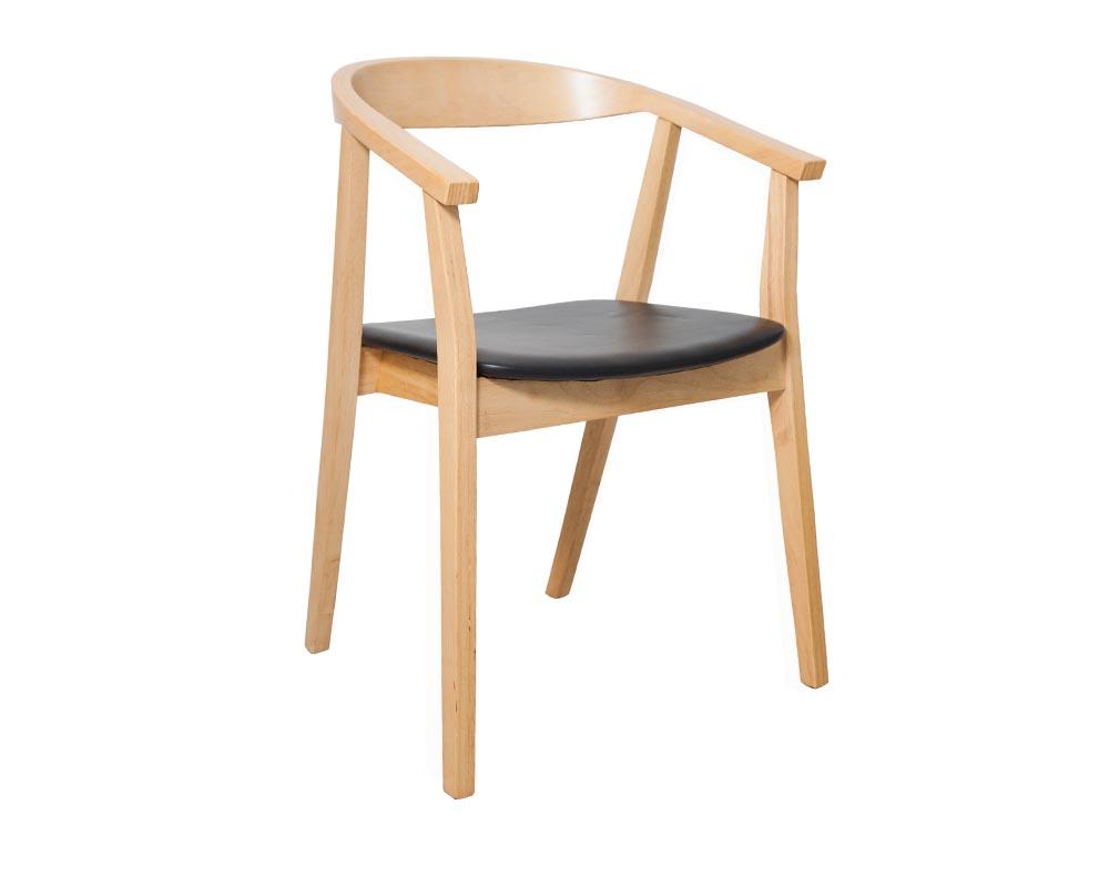eaddcecec404 Albert Dining Chair Black
