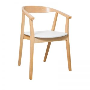 Albert Dining Chair White 300x300 - Albert Dining Chair - White