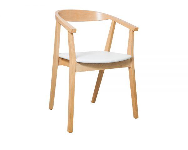 Albert Dining Chair White 600x480 - Albert Dining Chair - White