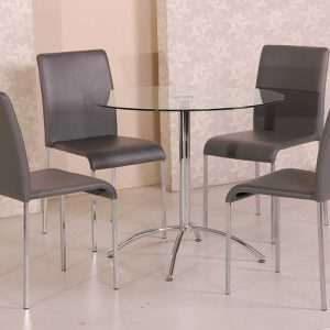 Café Citro 5 piece Dining Setting Grey 300x300 - Cafe Citro 5 piece Dining Setting Grey