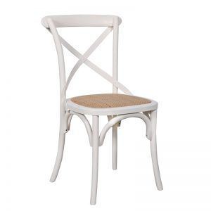 Crossback Dining Chair White 1 300x300 - Crossback Dining Chair White