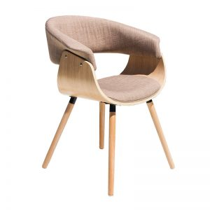 Kepler Dining Chair Beige 300x300 - Kepler Dining Chair Oak - Beige