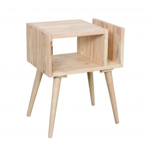 Scandi side table with magazine rack 300x300 - Scandi side table with magazine rack