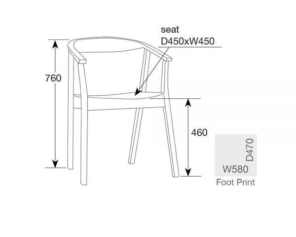albert3 1 600x480 - Albert Dining Chair - White