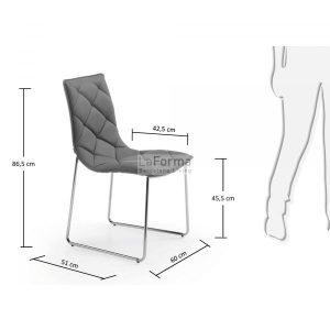 c040u03 3m 300x300 - Baxter Dining Chair - Grey