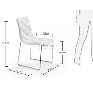 c040u05 3m 300x300 - Baxter Dining Chair - White