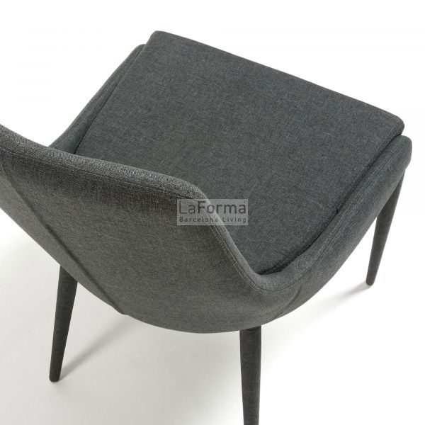 c626j15 3d 600x600 - Dant Dining Chair - Dark Grey