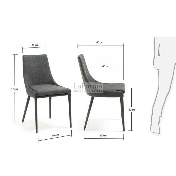 c626j15 3m 600x600 - Dant Dining Chair - Dark Grey