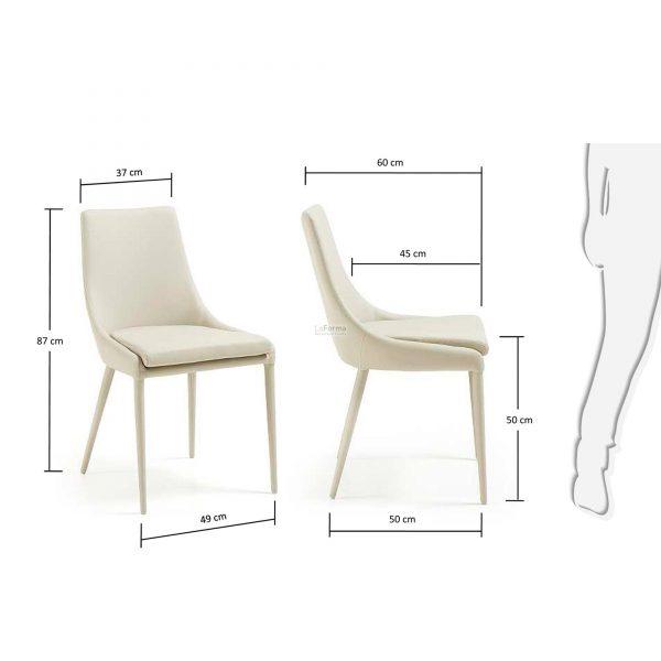 c626u38 3m 600x600 - Dant Dining Chair - Pearl