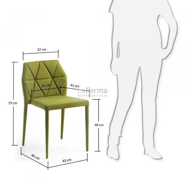 c640j06 3m 600x600 - Gravite Dining Chair - Green