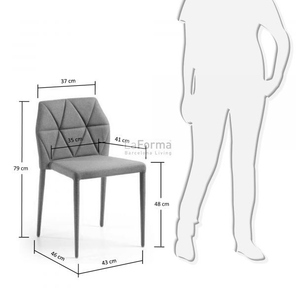 c640j14 3m 600x600 - Gravite Dining Chair - Grey
