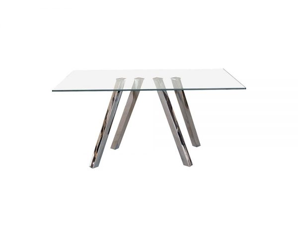 funky1 600x480 - Funky 1800 Glass Dining Table