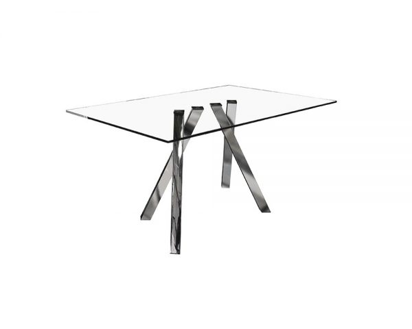funky2 600x480 - Funky 1800 Glass Dining Table