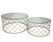 Atlantic Set of 2 177x142 - Atlantic Set Of 2 Coffee Tables - Champagne