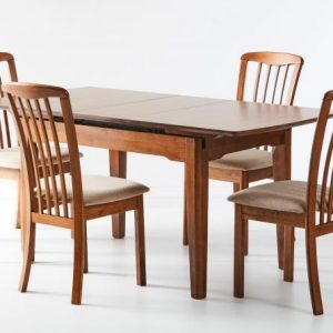 HM Ascot Extension table Open Reim Chair 300x300 - Ascot Extension Dining Table with 4 Reim Chairs