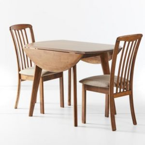 HM Dropside table down Reim chair 300x300 - Dropside Table with Reim Chairs - Teak