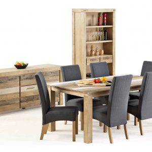 Peninsula Dining Buffet Display 2017 M Design 300x300 - Peninsula 7 piece Dining Setting