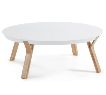 solid coffee table white - Solid Coffee Table