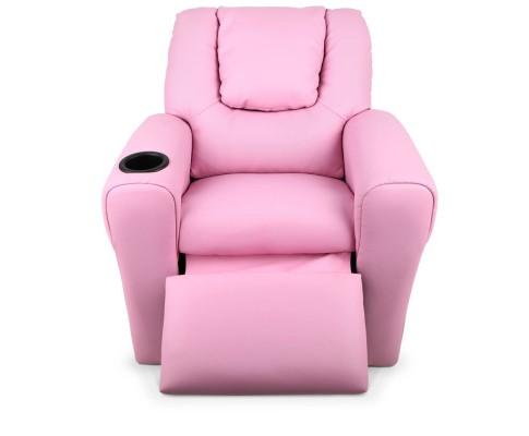 KID RECLINER PK 04 - Kids Recliner Armchair - Pink