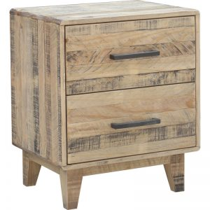BST WDS 01 300x300 - Woodstock 2 Drawer Bedside