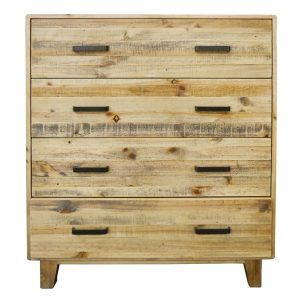 HF0032 300x300 - Woodstock 4 Drawer Tallboy