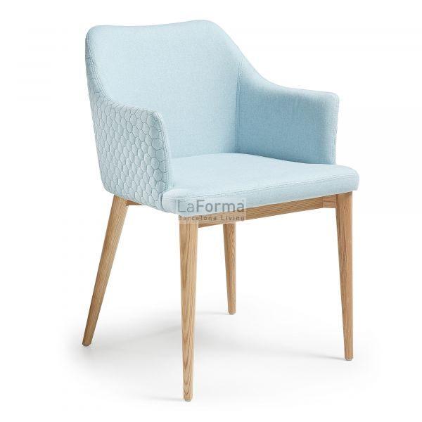 cc0077jq27 3a 600x600 - Danai Quilted Armchair - Blue