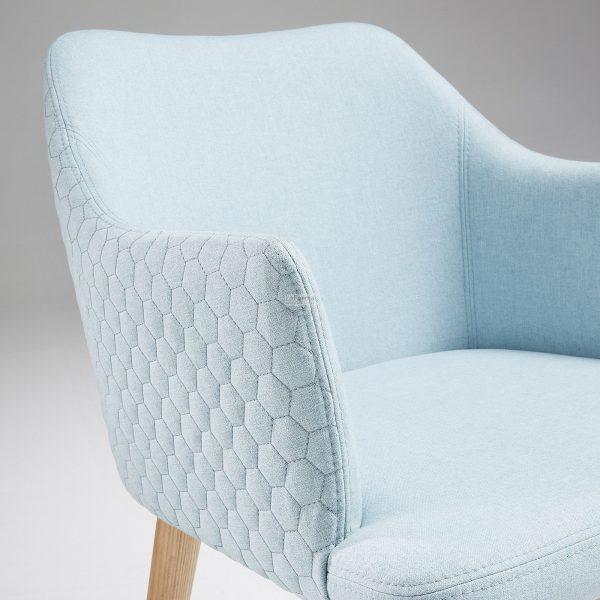 cc0077jq27 3d 600x600 - Danai Quilted Armchair - Blue