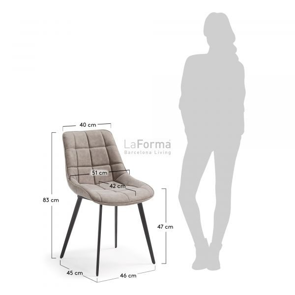cc0248ue85 3m 600x600 - Adah Dining Chair - Taupe