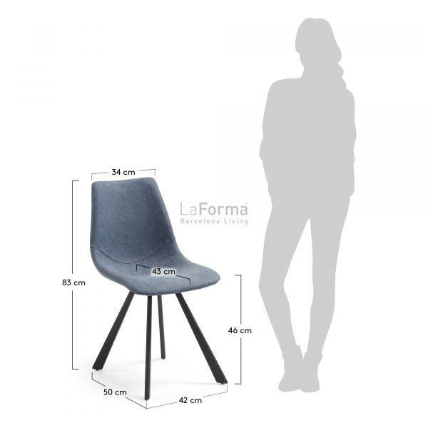 cc0252ue25 3m 600x600 - Andi Dining Chair - Blue