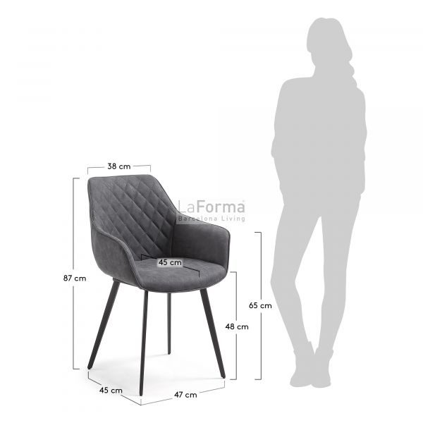 cc0253ue02 3m 600x600 - Aminy Dining Chair - Black