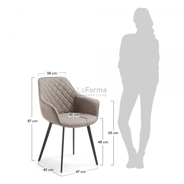cc0253ue85 3m 600x600 - Aminy Dining Chair - Taupe