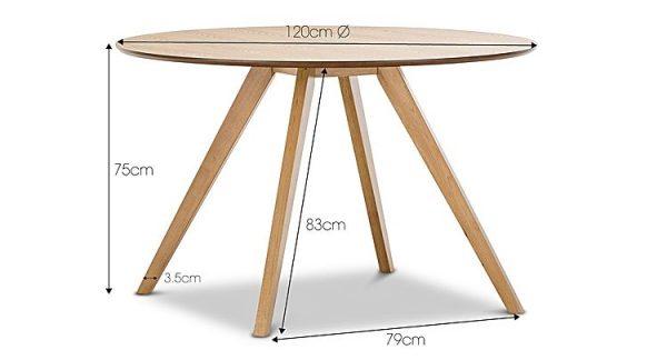 milari3 600x324 - Milari 1200 Round Dining Table