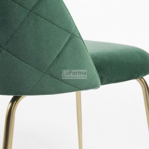 mys8 300x300 - Mystere Dining Chair - Emerald Velvet/Gold
