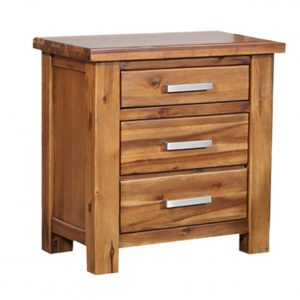 BETHANY 1516 BBT Bedside Table 300x300 - Bethany 3 Drawer Bedside