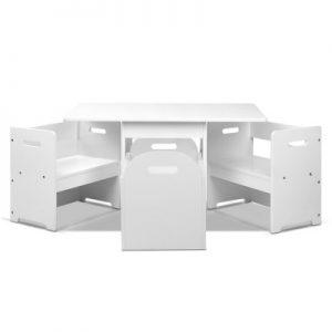 FUNKI RUDY WH 02 300x300 - Jarrad Kids & Table Chair Set - White
