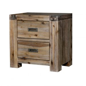 GOLDFIELD 2316 GBT Bedside Table 300x300 - Goldfield 2 Drawer Bedside