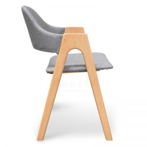 Jay 300x300 - Jay Dining Chair - Light Grey