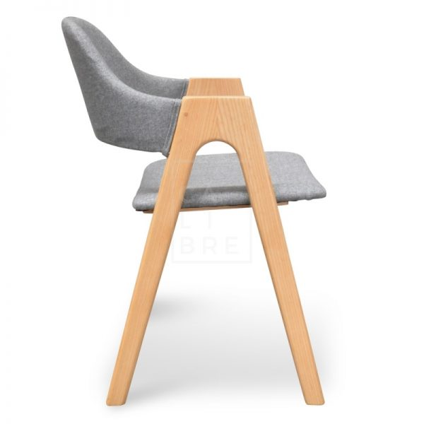 Jay 600x600 - Jay Dining Chair - Light Grey