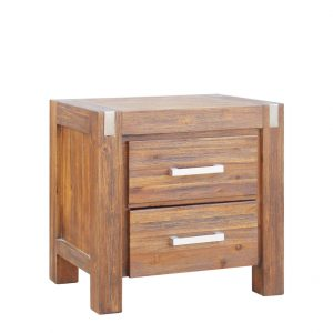 MATRIX 2516 MBT BEDSIDE TABLE 300x300 - Matrix 2 Drawer Bedside