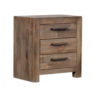MELROSE 2616 MBT Bedside Table 300x300 - Melrose 3 Drawer Bedside