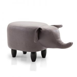 UPHO C ANIMA ELI GY 00 300x300 - Kids Elephant Animal Stool Grey