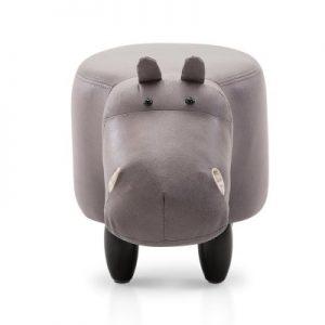 UPHO C ANIMA HIPO GY 02 300x300 - Kids Hippo Animal Stool Grey
