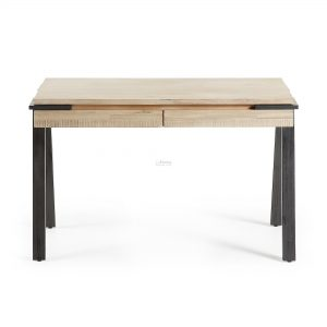 disset1 300x300 - Disset 2 Drawer Oak Desk